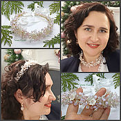Necklace handmade. Livemaster - original item A necklace or a Wreath in her hair