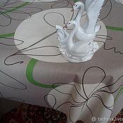 Ткани ручной работы. Ярмарка Мастеров - ручная работа Ткань с пропиткой-блики. Handmade.