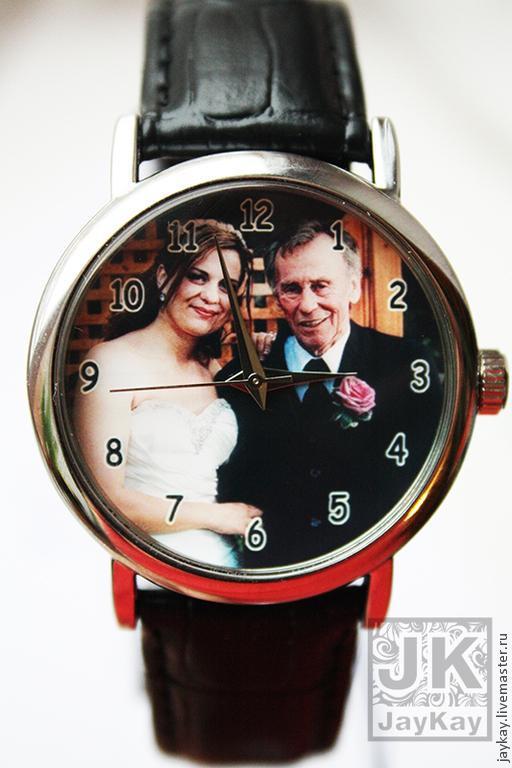"""Часы ручной работы. Ярмарка Мастеров - ручная работа. Купить Часы наручные JK """"Личный дизайн"""". Handmade. Часы"""