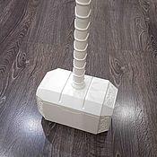 Костюмы для кослпея ручной работы. Ярмарка Мастеров - ручная работа Костюмы: Мьёльнир Молот не крашенный Тор рагнарек Mjolnir marvel Thor. Handmade.