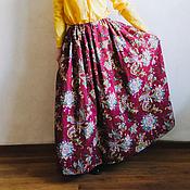 """Одежда ручной работы. Ярмарка Мастеров - ручная работа Юбка """"Индийский сад"""". Handmade."""