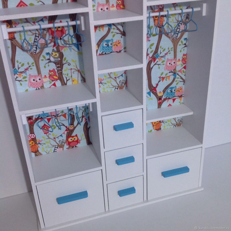 какие шкафы для кукол можно сделать фото евгением