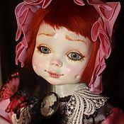 """Куклы и пупсы ручной работы. Ярмарка Мастеров - ручная работа Авторская фарфоровая кукла """"Маленькая мечтательница"""". Handmade."""