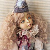 Куклы и игрушки ручной работы. Ярмарка Мастеров - ручная работа Будуарная кукла  Клоунесса Шармелька.  коллекционная кукла. Handmade.