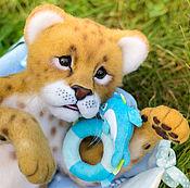 Куклы и игрушки ручной работы. Ярмарка Мастеров - ручная работа львенок Бэйлиз. Handmade.