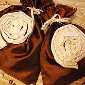 Сувениры и подарки ручной работы. Ярмарка Мастеров - ручная работа Комплект: 2 подарочных мешочка из полиэстера. Handmade.