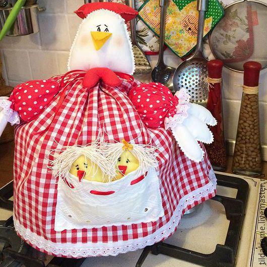 Грелочка на чайник- украшение вашей кухни. Ручная работа. Сделано с любовью. Ярмарка мастеров. Эксклюзив.