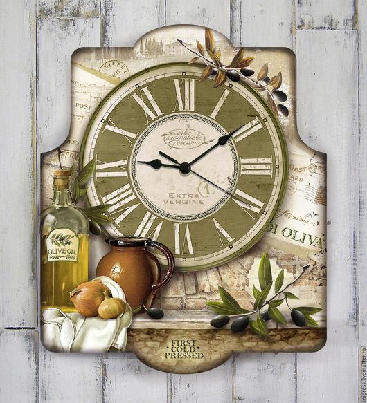 Часы для дома ручной работы. Ярмарка Мастеров - ручная работа. Купить часы настенные Тоскана. Handmade. Часы
