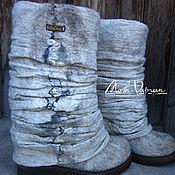 """Обувь ручной работы. Ярмарка Мастеров - ручная работа Валяные ботинки """" Волчья лапа"""". Handmade."""
