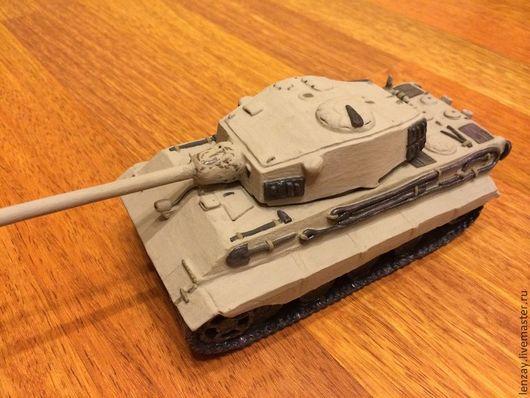 Пепельницы ручной работы. Ярмарка Мастеров - ручная работа. Купить Танк Е75 Модель. Керамика. Handmade. Хаки, модели танков