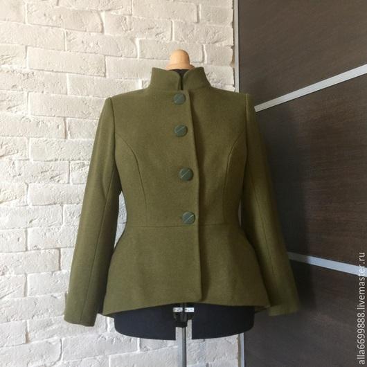 Верхняя одежда ручной работы. Ярмарка Мастеров - ручная работа. Купить Пальто Баска. Handmade. Пальто, пальто на заказ