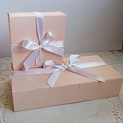 Материалы для творчества ручной работы. Ярмарка Мастеров - ручная работа Коробочка Розовая сумочка (2 размера). Handmade.