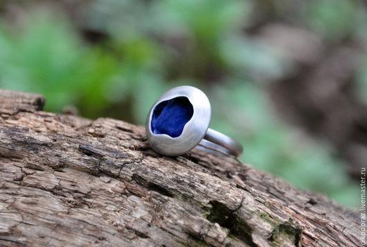 """Кольца ручной работы. Ярмарка Мастеров - ручная работа. Купить Кольцо серебряное """"Озеро сновидений"""". Handmade. Луна, романтичное кольцо"""
