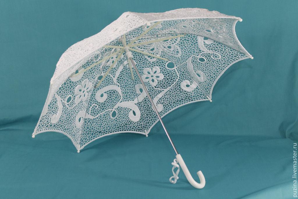 Свадебный зонт своими руками мастер класс 1069