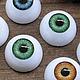 """20мм Глаза кукольные (зеленые) 2шт. """"3196"""", Куклы и игрушки, Москва, Фото №1"""