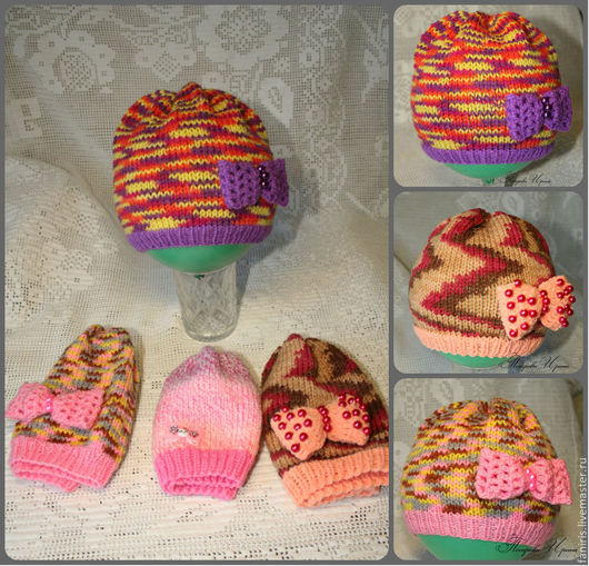 Шапки и шарфы ручной работы. Ярмарка Мастеров - ручная работа. Купить Детские шапочки осень-весна. Handmade. Шапочка