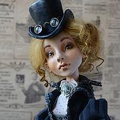 Куклы и игрушки handmade. Livemaster - original item Sold. collectible doll