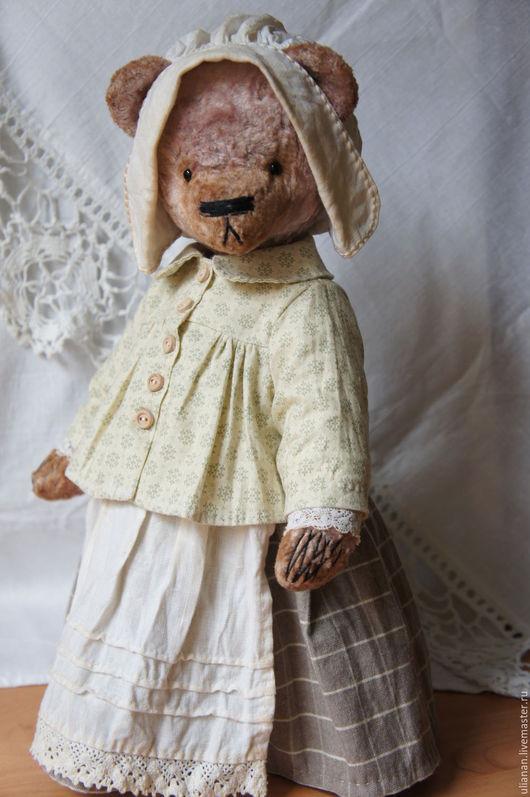 Мишки Тедди ручной работы. Ярмарка Мастеров - ручная работа. Купить Люся.. Handmade. Бледно-розовый, плюшевая игрушка