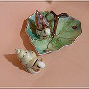 """Посуда ручной работы. Ярмарка Мастеров - ручная работа Набор для специй """"Улитки 2"""". Handmade."""