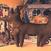 Чердачная кукла ручной работы. Ярмарка Мастеров - ручная работа Сторожевой пёс. Handmade.
