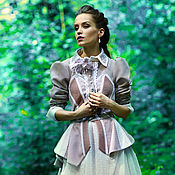 Одежда handmade. Livemaster - original item Women`s designer retro coat(patchwork) - Magical aroma of Pompeii. Handmade.