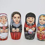 Русский стиль ручной работы. Ярмарка Мастеров - ручная работа матрешки. Handmade.
