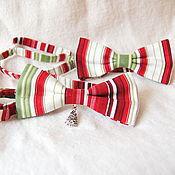 Аксессуары ручной работы. Ярмарка Мастеров - ручная работа галстук - бабочка Полоска. Handmade.