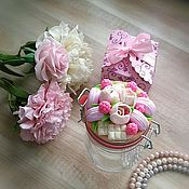Посуда handmade. Livemaster - original item Bank for sweets and macaroons, and flowers. Handmade.