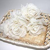 Цветы и флористика ручной работы. Ярмарка Мастеров - ручная работа Цветы на свадебные и вечерние платья. Handmade.
