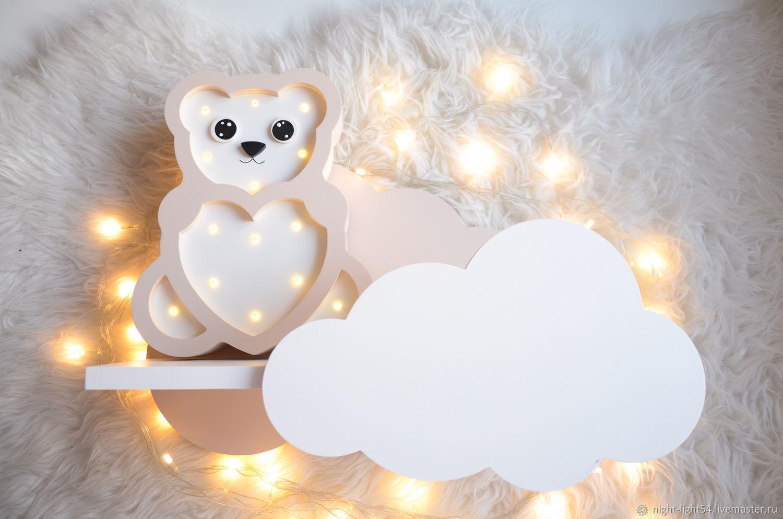 Shelf ' Cloud ', Interior elements, Novosibirsk,  Фото №1
