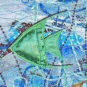 Картины и панно ручной работы. Ярмарка Мастеров - ручная работа Панно В морских глубинах. Handmade.