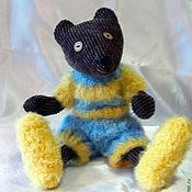 Куклы и игрушки ручной работы. Ярмарка Мастеров - ручная работа Мишка Марсель. Handmade.
