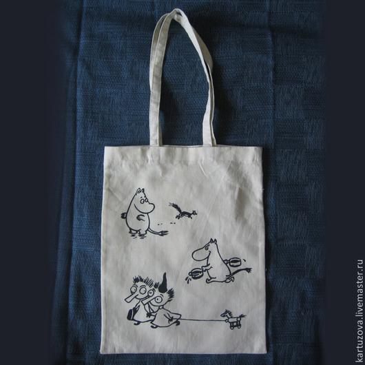 Женские сумки ручной работы. Ярмарка Мастеров - ручная работа. Купить Тканевые сумки с различными персонажами. Handmade. Сумка, мумики