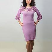 Одежда ручной работы. Ярмарка Мастеров - ручная работа Платье вязаное 4318. Handmade.