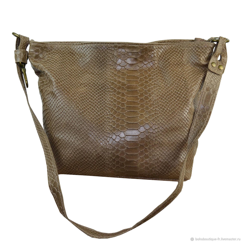 e049d49661a6 Женские сумки ручной работы. Ярмарка Мастеров - ручная работа. Купить  Кожаная женская сумка коричневая ...