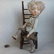 Куклы и игрушки ручной работы. Ярмарка Мастеров - ручная работа Родион кукла будуарная. Handmade.