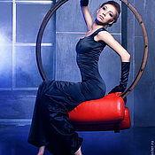 """Одежда ручной работы. Ярмарка Мастеров - ручная работа Платье """"Чёрная кошка"""". Handmade."""