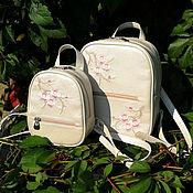 Рюкзаки ручной работы. Ярмарка Мастеров - ручная работа Комплект Рюкзаки Family Look. Handmade.