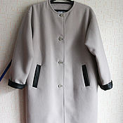 Одежда ручной работы. Ярмарка Мастеров - ручная работа Пальто демисезонное. Handmade.