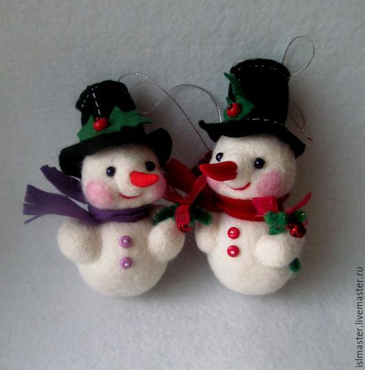 Ёлочная игрушка Снеговик