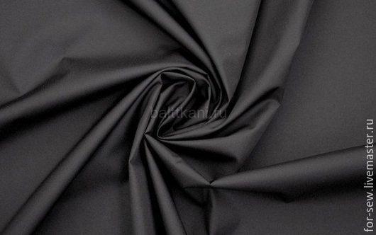 Шитье ручной работы. Ярмарка Мастеров - ручная работа. Купить Курточная ткань Дюспо Черная. Handmade. Черный, непромокаемая ткань