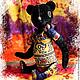 Мишки Тедди ручной работы. Африканская ночь. ArtMary. Ярмарка Мастеров. Медведь тедди, африканские мотивы, Антикварный плюш