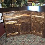Для дома и интерьера ручной работы. Ярмарка Мастеров - ручная работа Деревянная кухня под старину. Handmade.