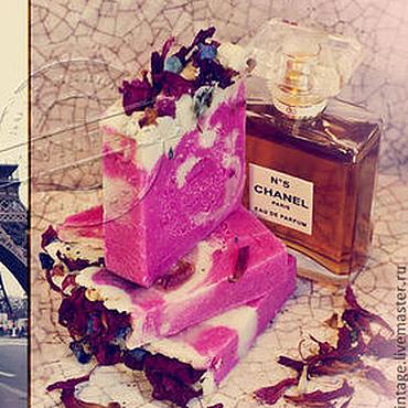 """Косметика ручной работы. Ярмарка Мастеров - ручная работа """"Прогулки с Коко Шанель"""" мыло с нуля парфюмерное. Handmade."""