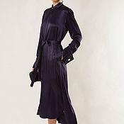 Платья ручной работы. Ярмарка Мастеров - ручная работа Шелковое платье женское 638В. Handmade.