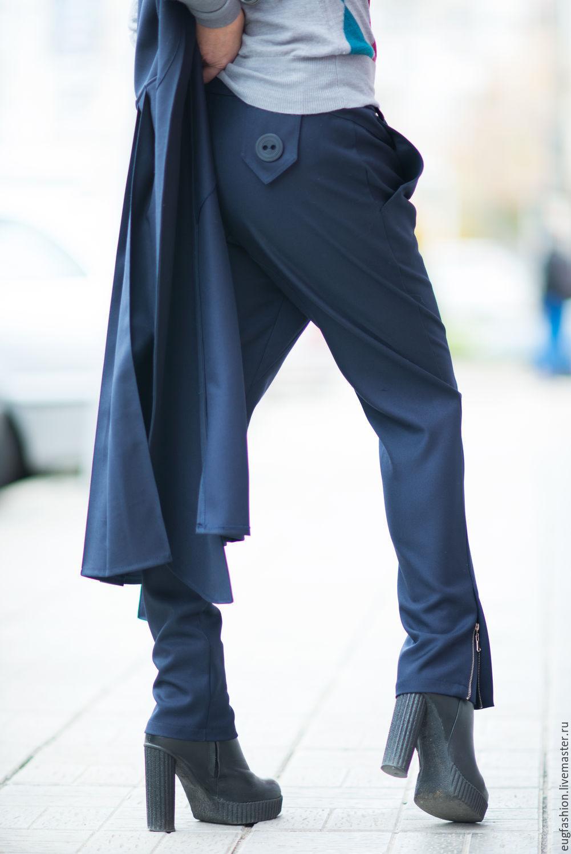 Легкие модные брюки