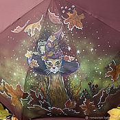 """Зонты ручной работы. Ярмарка Мастеров - ручная работа Зонт с росписью """"Исполняющий желания"""". Handmade."""