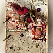 """Канцелярские товары ручной работы. Ярмарка Мастеров - ручная работа Блокнот """"Memories"""". Handmade."""