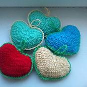 Для дома и интерьера ручной работы. Ярмарка Мастеров - ручная работа декоративные сердечки. Handmade.