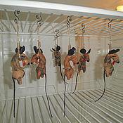 Сувениры и подарки handmade. Livemaster - original item Mouse hanged in the fridge. Handmade.